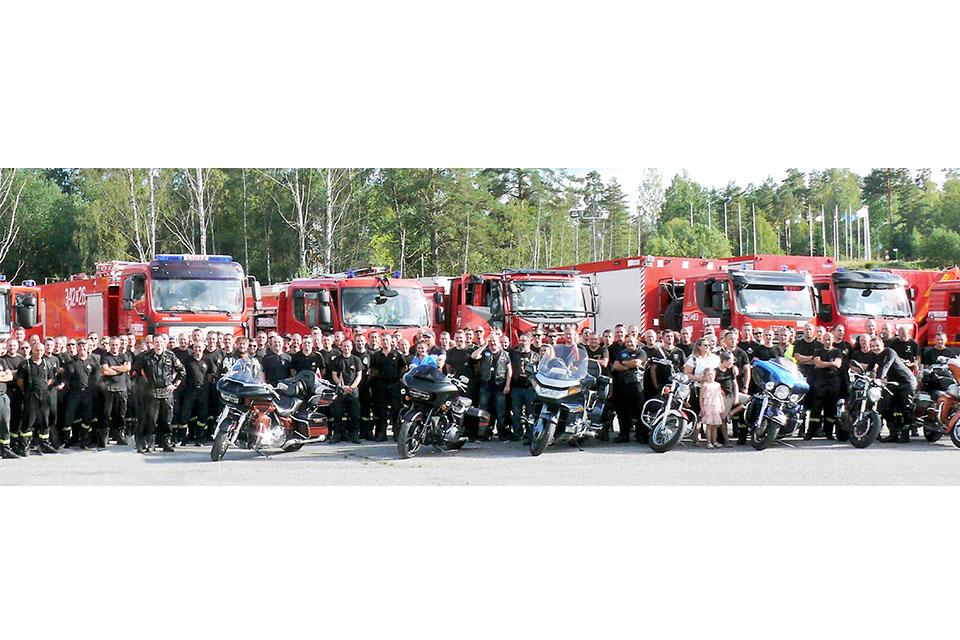Zrzeszenie żegnało w Szwecji polskich strażaków