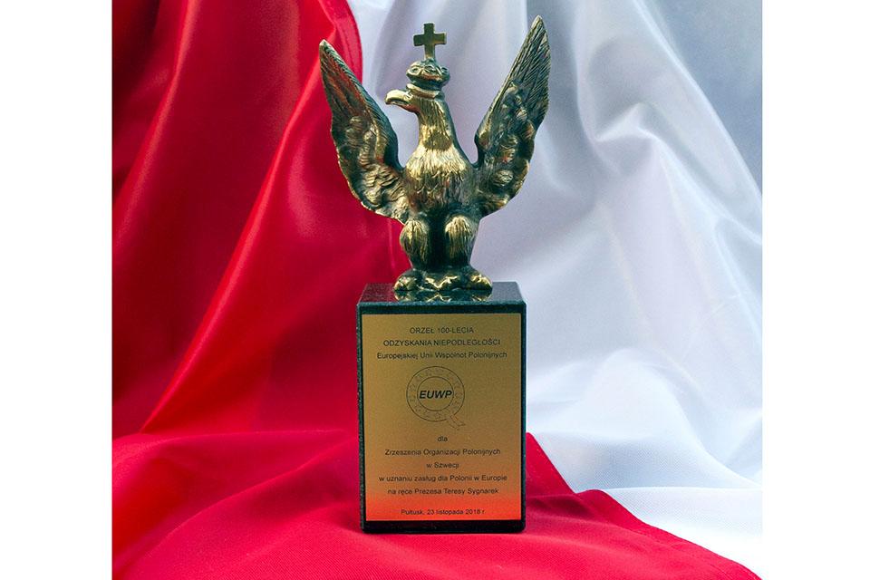 Zrzeszenie uhonorowane Orłem Niepodległości
