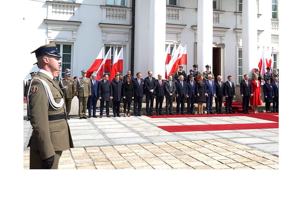 Obchody Święta Polonii i Święta Narodowego w Warszawie