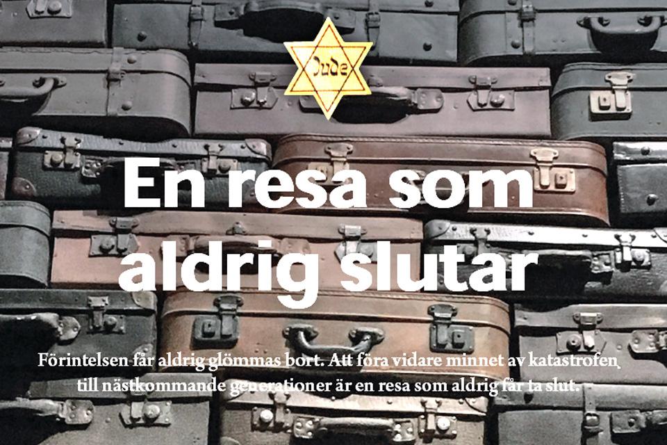 Obchody w Szwecji 75. rocznicy wyzwolenia niemieckiego obozu nazistowskiego Auschwitz- Birkenau